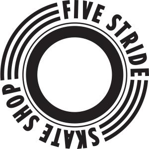five_stride_logo_Black on white background
