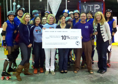 ILWR presents Big Check to Big Brothers Big Sisters!