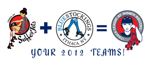 Your 2012 SufferJets & BlueStockings!