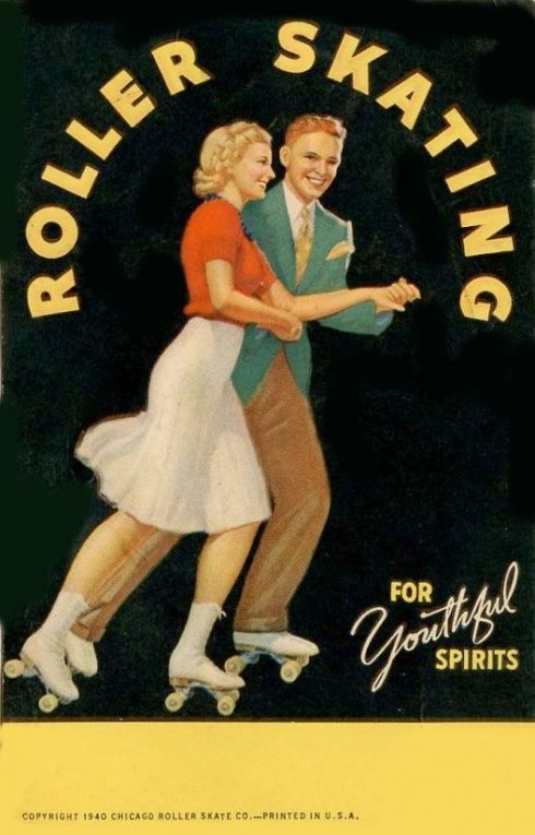 Roller Skate for Youthful Spritis