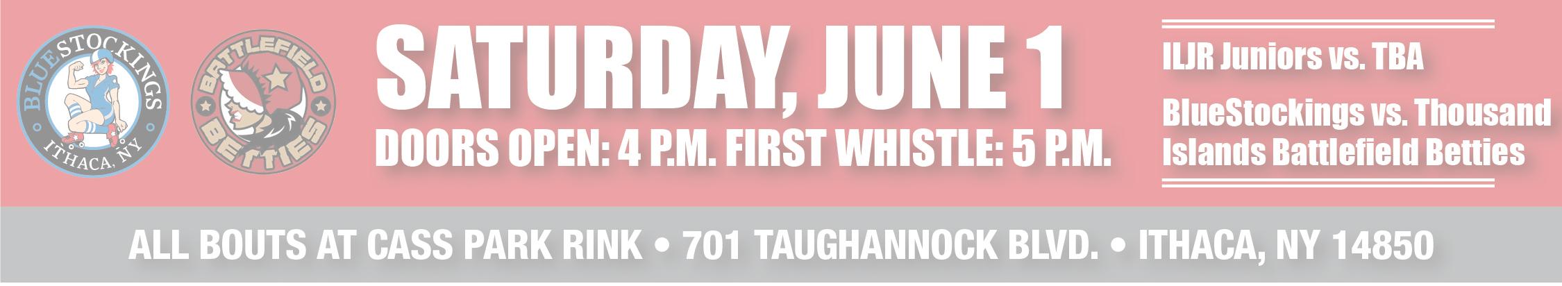 Saturday, June 1
