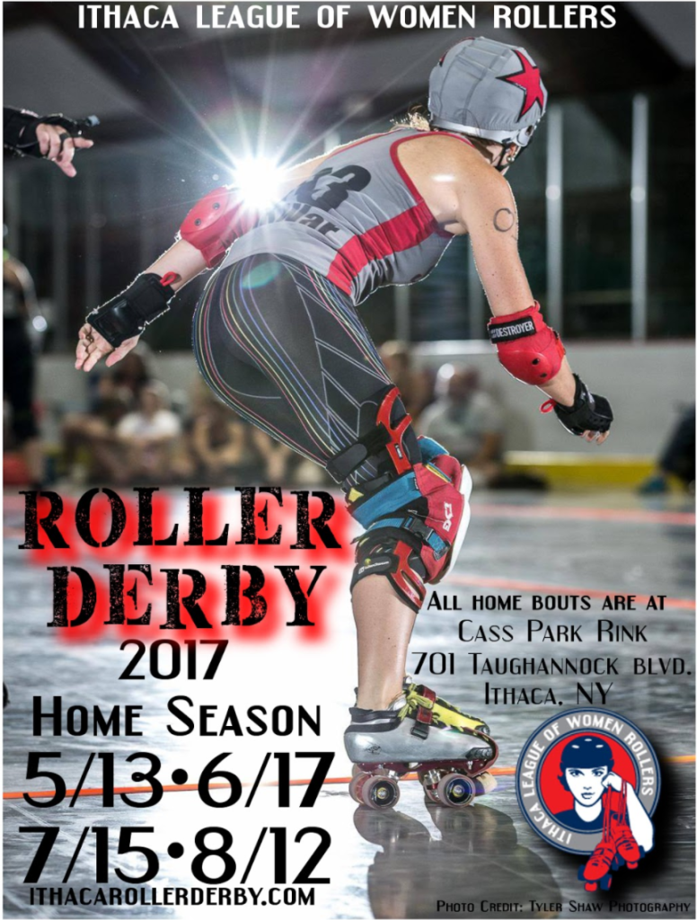 2017 HOme Season Dates - Ithaca Roller Derby